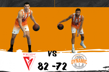 KK METALAC – KK DYNAMIC VIP PAY 82:72